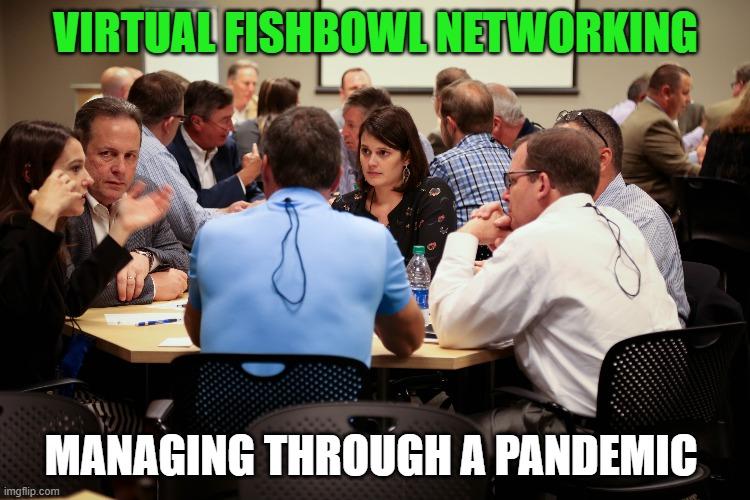 Virtual Fishbowl Networking