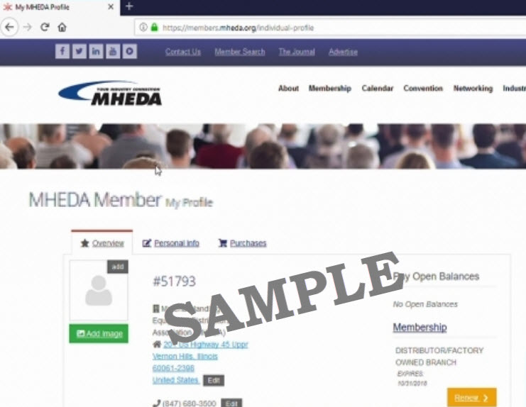 Update Company Information for the 2021 Member Directory